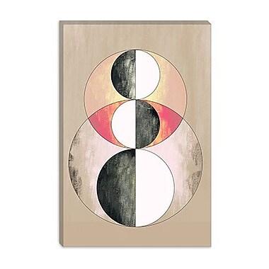 iCanvas Modern Geometric Prism Graphic Art on Canvas; 12'' H x 8'' W x 0.75'' D