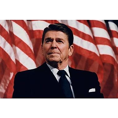 iCanvas Political 'Ronald Reagan Portrait' Photographic Print on Canvas; 26'' H x 40'' W x 1.5'' D