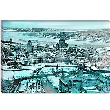 iCanvas Quebec City, Lower Town Canada #3 Photographic Print on Canvas; 26'' H x 40'' W x 1.5'' D