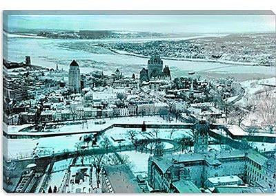 iCanvas Quebec City, Lower Town Canada #3 Photographic Print on Canvas; 18'' H x 26'' W x 1.5'' D
