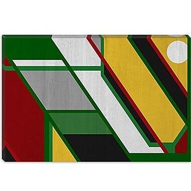 iCanvas Modern Pattern Graphic Art on Canvas; 26'' H x 40'' W x 1.5'' D