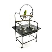 A&E Cage Co. The  O'' Parrot Play Stand; Black