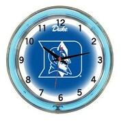 Wave 7 NCAA 18'' Team Neon Wall Clock; Duke