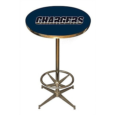 Imperial NFL Pub Table; San Diego Chargers