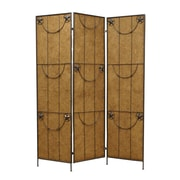 Screen Gems 72'' x 60'' Lone Star 3 Panel Room Divider