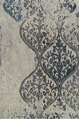 Dalyn Rug Co. Grand Tour White Plant Area Rug; 3'3'' x 5'1''