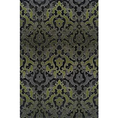 Dalyn Rug Co. Grand Tour Green/Black Area Rug; Rectangle 7'10'' x 10'7''