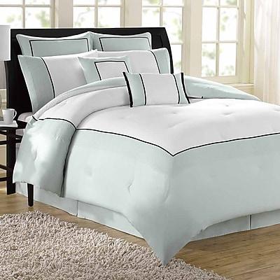 Soho New York Hotel 8 Piece Comforter Set; King WYF078275792357