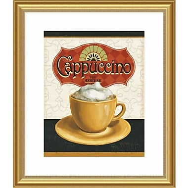 Printfinders 'Coffee Moment I' by Lisa Audit Framed Vintage Advertisement