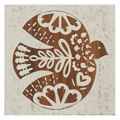 Evive Designs Country Woodcut III Paper Print
