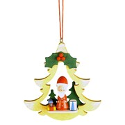 Christian Ulbricht Santa w/ Gifts Ornament
