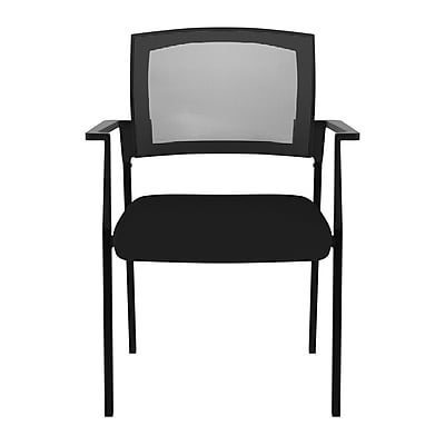 Compel Office Furniture Speedy Stacking Chair; Black