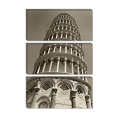 iCanvas 'Pisa Tower II' by Chris Bliss Photographic Print on Canvas; 40'' H x 26'' W x 1.5'' D