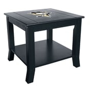 Imperial NHL End Table; Pittsburgh Penguins