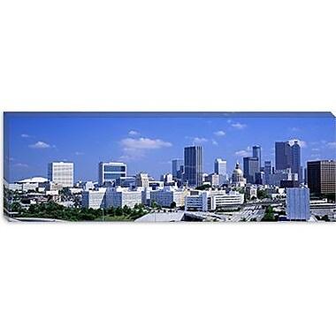 iCanvas Panoramic Atlanta, Georgia, USA Photographic Print on Canvas; 16'' H x 48'' W x 1.5'' D