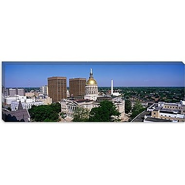 iCanvas Panoramic Atlanta, GA Photographic Print on Canvas; 30'' H x 90'' W x 1.5'' D