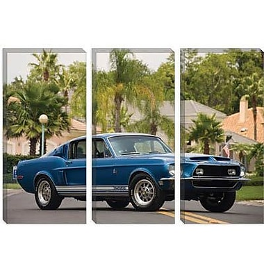 iCanvas Cars and Motorcycles 1968 Shelby Gt 500 Kr Fastback Photographic Print on Canvas