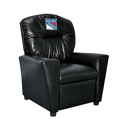 Imperial NHL Kids Recliner w/ Cup Holder; New York Rangers