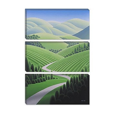 iCanvas ''Wine Country 2'' by Ron Parker Graphic Art on Canvas; 26'' H x 18'' W x 1.5'' D