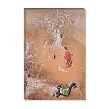 iCanvas ''Spring Day'' Canvas Wall Art by Hashimoto Kansetsu; 18'' H x 12'' W x 1.5'' D
