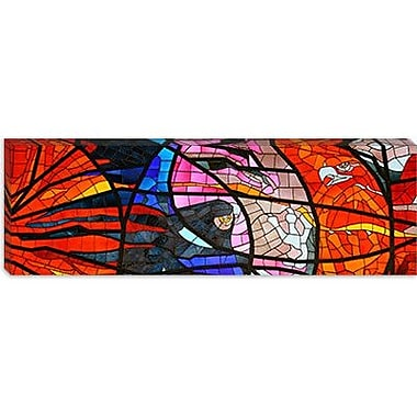 iCanvas 'Stained Glass Window' Photographic Print on Canvas; 20'' H x 60'' W x 1.5'' D