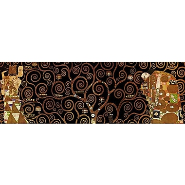 iCanvas 'The Tree of Life II' by Gustav Klimt Graphic Art on Canvas; 30'' H x 90'' W x 1.5'' D