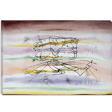 iCanvas 'Veil Dance (Schleiertanz)' by Paul Klee Graphic Art on Canvas; 8'' H x 12'' W x 0.75'' D