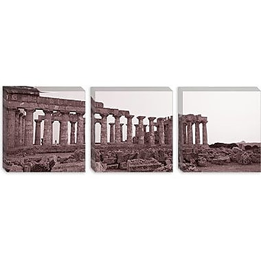 iCanvas Panoramic Acropolis Selinunte Archeological Park Italy Photographic Print on Canvas