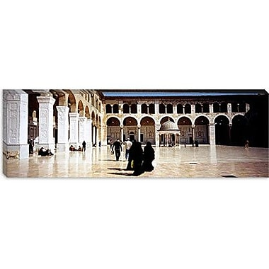 iCanvas Panoramic Umayyad Mosque, Damascus, Syria Photographic Print on Canvas