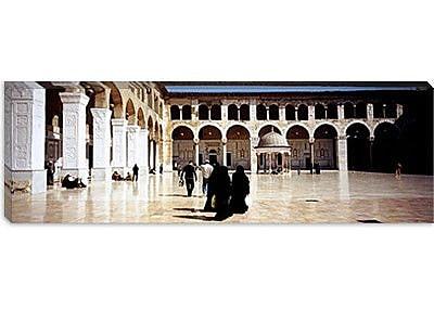 iCanvas Panoramic Umayyad Mosque, Damascus, Syria Photographic Print on Canvas