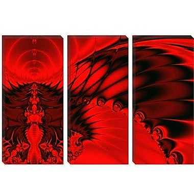 iCanvas Digital Red Falcon Graphic Art on Canvas; 40'' H x 60'' W x 1.5'' D