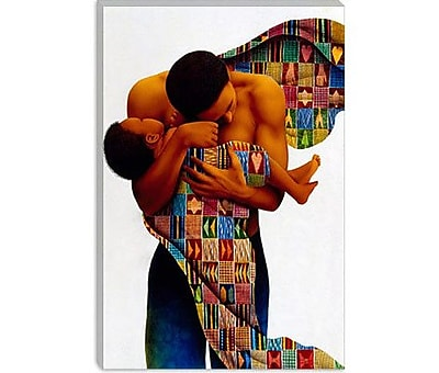 iCanvas ''Sheltering Love'' by Keith Mallett Graphic Art on Canvas; 18'' H x 12'' W x 1.5'' D