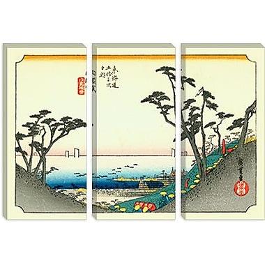 iCanvas ''Shirasuka'' Canvas Wall Art by Utagawa Hiroshige l; 18'' H x 26'' W x 1.5'' D