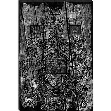 iCanvas Canada, Coat of Arms #6 Graphic Art on Canvas; 40'' H x 26'' W x 0.75'' D
