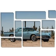 iCanvas Cars and Motorcycles 1957 Ford Thunderbird Photographic Print on Canvas