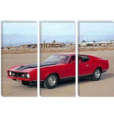 iCanvas Cars and Motorcycles 1971 Mustang Mach 1 Photographic Print on Canvas