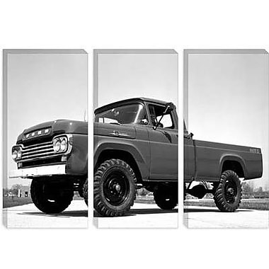 iCanvas Cars and Motorcycles 1959 Ford F-250 4x4 Photographic Print on Canvas