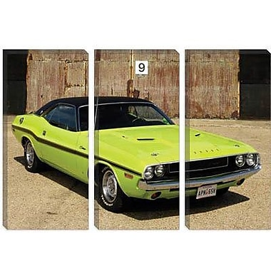 iCanvas Cars and Motorcycles 1970 Dodge Challenger Photographic Print on Canvas