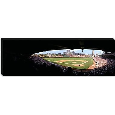 iCanvas Panoramic Wrigley Field, Chicago, Illinois Photographic Print on Canvas