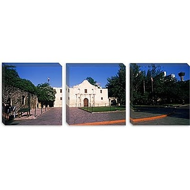 iCanvas Panoramic Building the Alamo, San Antonio, Texas Photographic Print on Canvas