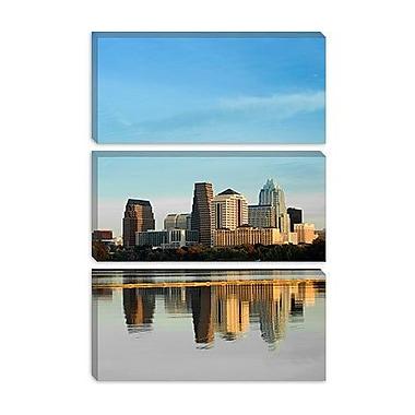 iCanvas Panoramic Town Lake, Austin, Texas Photographic Print on Canvas; 26'' H x 18'' W x 1.5'' D