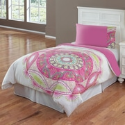 Hallmart Collectibles Sun Medallion Comforter Set; Twin