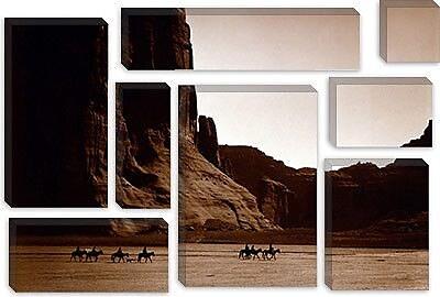 iCanvas Canyon De Chelly, Arizona Photographic Print on Canvas; 12'' H x 18'' W x 1.5'' D