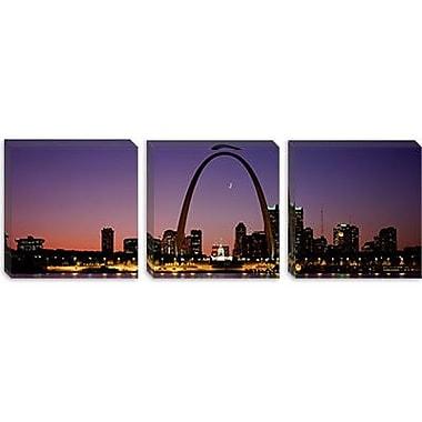 iCanvas Panoramic St Louis, Missouri Photographic Print on Canvas; 20'' H x 60'' W x 1.5'' D