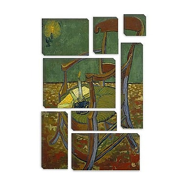 iCanvas 'Gauguin's Chair' by Vincent Van Gogh Painting Print on Canvas; 60'' H x 40'' W x 1.5'' D