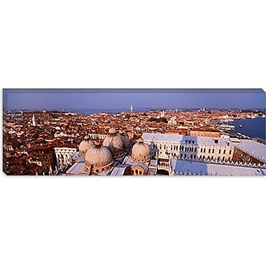iCanvas Panoramic Venice, Italy Photographic Print on Canvas; 16'' H x 48'' W x 0.75'' D
