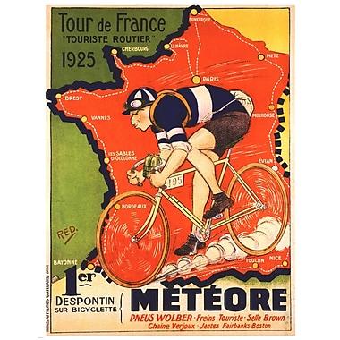 Evive Designs Tour de France 1925 by Red Vintage Advertisement