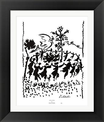 Evive Designs Vive la Paix by Pablo Picasso Framed Painting Print