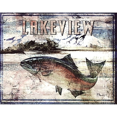 Evive Designs Lakeview by Paul Brent Graphic Art