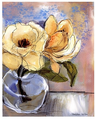 Evive Designs Magnolia Perfection II by Marina Louw Painting Print